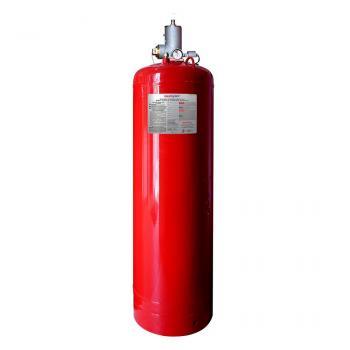 250 LB Bình khí sạch chữa cháy (HFC-227ea), 250 Lps(113 kg), kèm van 1.5 Inch đầu bình