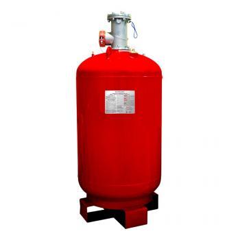 1200 LB Bình khí sạch chữa cháy (HFC-227ea), 1200 Lps(545kg), kèm van 4 Inch đầu bình