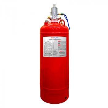 70 LB Bình khí sạch chữa cháy (HFC-227ea), 70 Lps(31.8 kg), kèm van 1 Inch đầu bình
