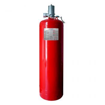375 LB Bình khí sạch chữa cháy (HFC-227ea), 375 Lps(170 kg), kèm van 2.5 Inch đầu bình