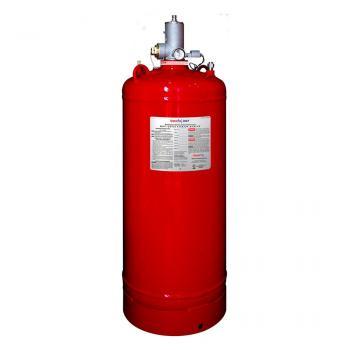 50 LB Bình khí sạch chữa cháy (HFC-227ea), 150 lps(68 kg), kèm van 1.5 Inch đầu bình