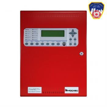 FIRENET PLUS 1127US0ERS120-NY Trung tâm báo cháy địa chỉ, 1 loop , có thể mở rộng ,120V , màu đỏ