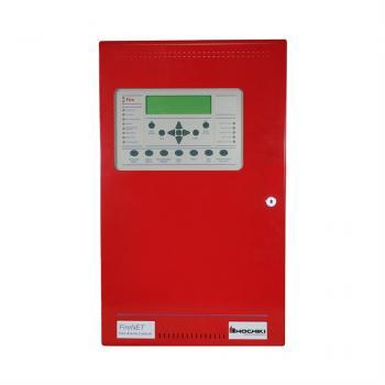 FireNET® 2127 Trung tâm báo cháy địa chỉ, 2 loop , plexiglass window ,120V , màu đỏ
