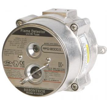 RFD-2000X UV/IR Đầu báo lửa, hồng ngoại/tử ngoại( vỏ thép chống rỉ)