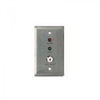 MS-KA/P/R Còi báo động từ xa, đèn LED báo động (đỏ), đèn LED thí điểm (xanh lá cây) và công tắc kiểm tra / đặt lại vận hành bằng chìa khóa