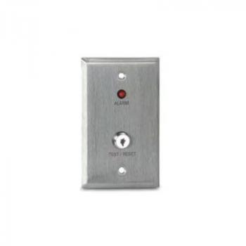 MS-KA/R Còi báo động từ xa, đèn LED báo động (đỏ) và công tắc kiểm tra / đặt lại vận hành bằng chìa khóa
