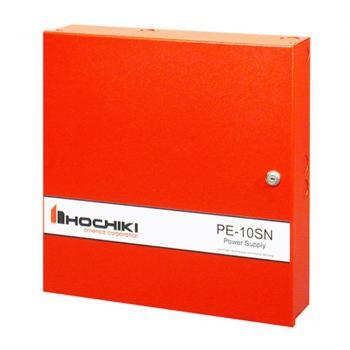 PE-10SN - Bộ mở rộng nguồn cho mạch thông báo Hochiki 10AMP, 6 mạch với giao thức QUADRASYNC, 24VDC