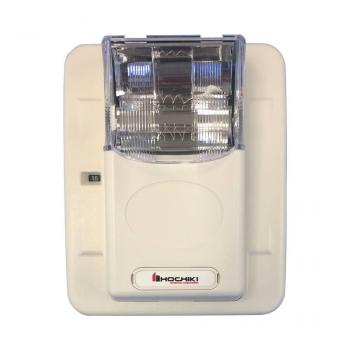 HES3-24PWW - Đèn chớp cảnh báo 24VDC, nhiều mức cài đặt, trơn không chữ cái, treo tường, màu trắng