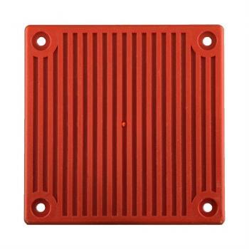 Nắp mặt trước chống thời tiết cho còi cảnh báo, màu đỏ ( cần có backbox WBB )