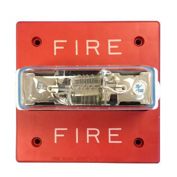 Đèn chớp 24VDC chống thời tiết, 75CD, treo tường, màu đỏ ( cần có backbox WPSBB )