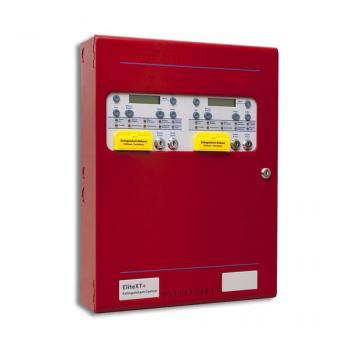 XT+2R XT+ MULTI Trung tâm báo cháy địa chỉ, điều khiển nhiều vùng chữa cháy, 02 chế độ giám sát, tính năng chống phóng điện từ bên ngoài, màu đỏ