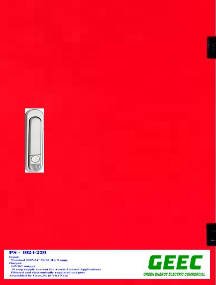 PS1024-220 Cấp nguồn và sạc ắc qui  Chuyên Dùng cho Hệ Thống Báo Cháy