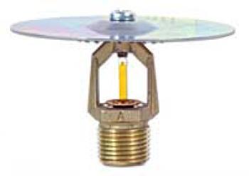 TY4133 Đầu phun Sprinkler, quay lên, loại 135°F (57°C), 155°F (68°C), 175°F (79°C), 200°F (93°C) , 286°F (141°C), chân ren 3/4