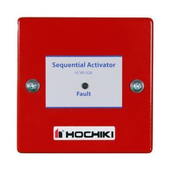 HCVR-SQA Nút tác động tuần tự, xả khí chữa cháy (Max hai bình xịt FirePro® X), tương thích với HCVR-3, (Red)