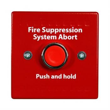 HCVR-AS Nút ấn tạm dừng chữa cháy, tương thích HCVR-3, (Red)